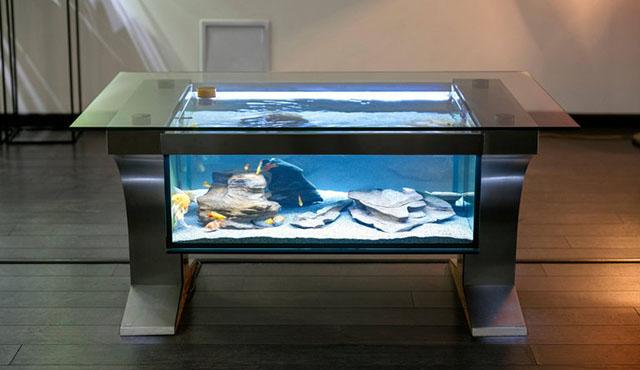 аквариум из нержавеющей стали