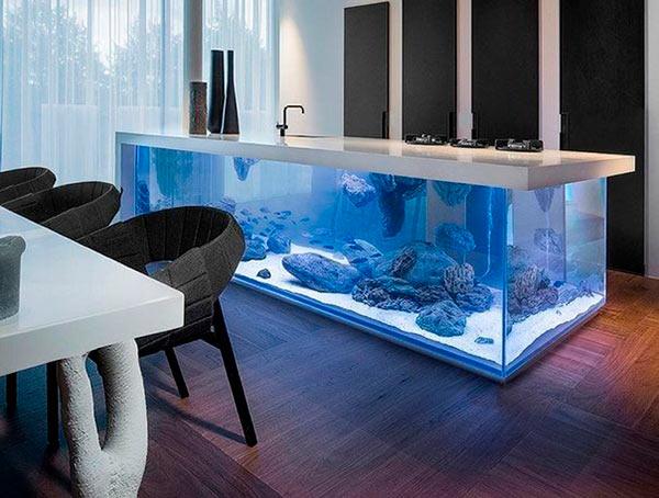 аквариум-столешница